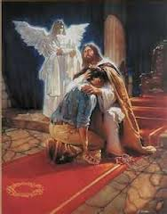 Jesus caring
