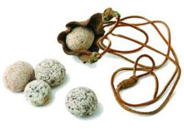 Sling and 5 stones
